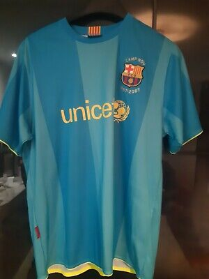 £8 • Buy Barcelona Away 08-09 Football Shirt Thierry Henry (Not Official) (Mens Large)