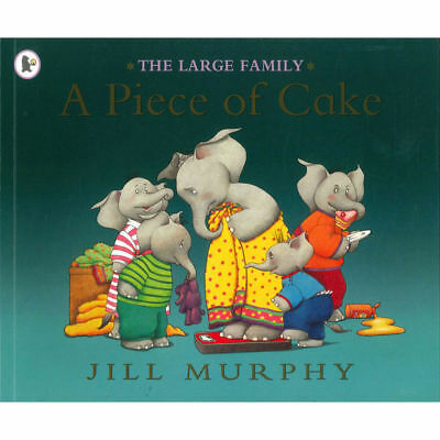 £3.50 • Buy The Large Family: A PIECE OF CAKE By Jill Murphy - Preschool Bedtime Story Book