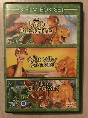 £3.44 • Buy ( The Land Before Time Collection Trilogy 1 2 3 ) Children / Family Dvd Set