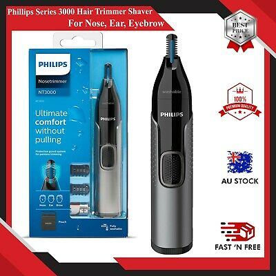 AU30.99 • Buy Philips Series 3000 Nose Ear Eyebrow Hair Trimmer Shaver/Comb Washable NT3650/16