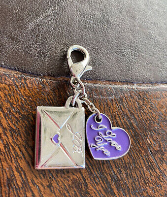 £4.99 • Buy Justin Bieber Dangle Charm Bracelet Jewellery Necklace Collectible