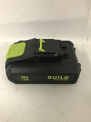 £14.99 • Buy Genuine Replacement Battery ABP1815SW Only  For Guild 1.5Ah Cordless Drill 18V
