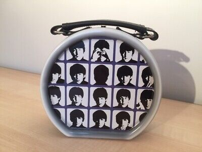 £14.99 • Buy Official Licensed Beatles A Hard Day's Night Drum Shaped Metal Lunchbox / Bag!!