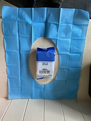 £1.60 • Buy 10 Disposable Toilet Seat Covers Camping Festival Loo Paper Pocket Size Tissue