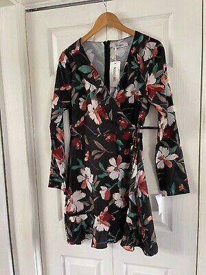 £12.50 • Buy TK Max Dress Size 14 Long Sleevee Brand New With Tag Fitted And Flared