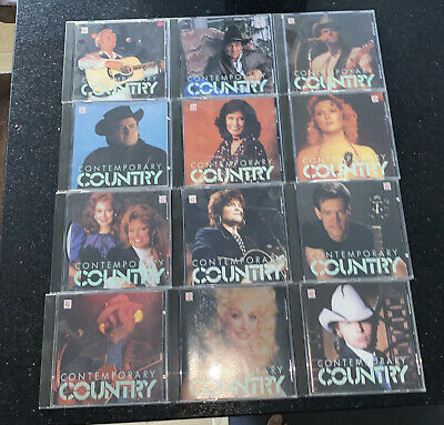 £0.72 • Buy Time Life Contemporary Country 12 CDs Rare