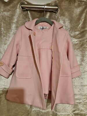£14.99 • Buy Couche Tot Dress And Matching Coat Age 12/18 Months