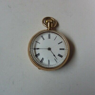 £4.20 • Buy C1897 Waltham Ladies Watch In 14k Gold Plated Case GC Needs Servicing