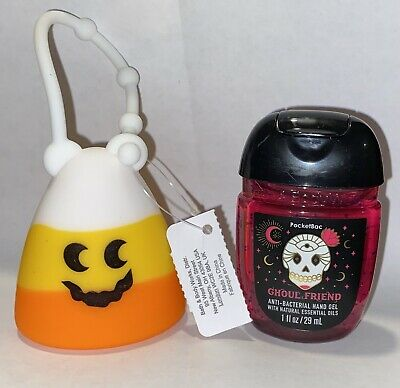 £12 • Buy Bath And Body Works HALLOWEEN CANDY CORN HOLDER & Ghoul Friend Set - Brand New