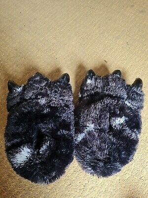 £0.99 • Buy Unisex Bear Claw Slipper Mens Animal Feet Faux Fur Monster Shoes Slippers Size 9
