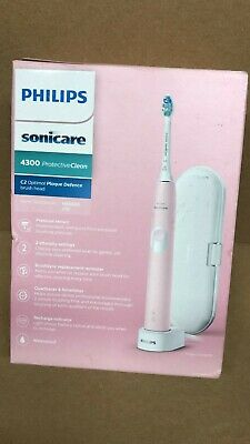 View Details Philips Sonicare Protective Clean 4300 Electric Toothbrush - Pastel Pink • 59.99£