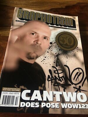 £9 • Buy Graphotism Graffiti Writers Magazine Issue 50 Book 2008 Can Two Does Pose Wow123