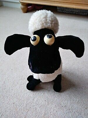 £5.99 • Buy Merrythought Shaun The Sheep Soft  Plush Toy Teddy Wallace & Gromit - GC £5.99
