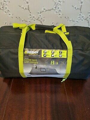 £85 • Buy Urban Escape 4 Person Tunnel Tent Double Skin New Sealed New Sealed