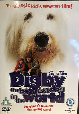 £15 • Buy Digby - The Biggest Dog In The World DVD. Excellent! Jim Dale, Spike Milligan.