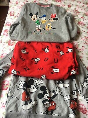 £5.99 • Buy 3 X Mickey Mouse Sweatshirt Jumpers From Primark Size S