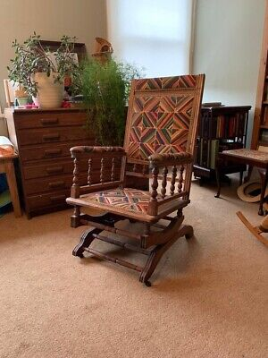 £25 • Buy Edwardian Rocking Chair With Liberty Fabric
