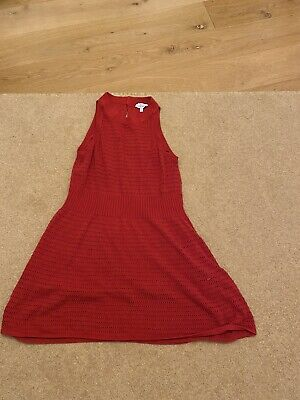 £10 • Buy Red Large &other Stories Knitted Dress