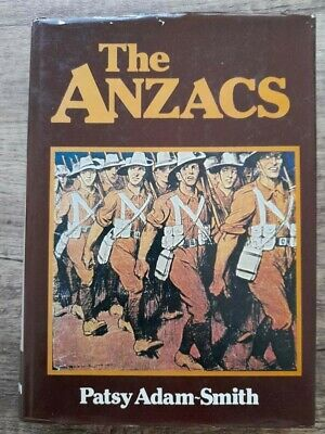 AU9.95 • Buy THE ANZACS By Patsy Adam-Smith (1978 Hardcover 1st Edition) War History