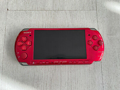 £49.99 • Buy Sony PSP Slim 3003 Radiant Red PSP-3003 ( No Battery, No Charger)