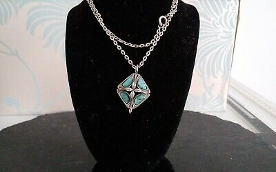 £10 • Buy Vintage Miracle Turquoise Necklace