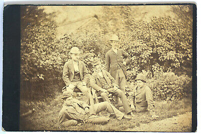£1.80 • Buy Group Of Estate Workers Keswick 1 X Cabinet Card  1880's