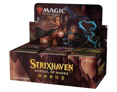 £92.99 • Buy MTG: Magic The Gathering - STRIXHAVEN: SCHOOL OF MAGES 36 Pack Booster Box - NEW