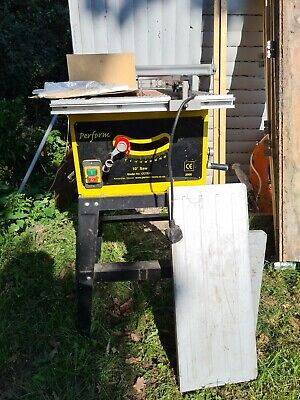 £50 • Buy Perform CCTS10 240V 10  Bench Saw