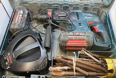 £119.99 • Buy Bosch GBH 36V LI Compact Professional Hammer Drill,Charger And 2 X 2.6ah Batts