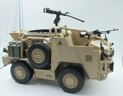 £20 • Buy HM Armed Forces British Army Jackal MWIMK Vehicle For 10  Action Figure LOT GA62