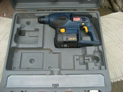 £10 • Buy Ryobi 24volt Hammer Drill Spares Or Repair With One Battery