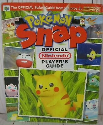 $14.95 • Buy Pokemon Snap N64 Official Nintendo Power Player's Guide Strategy Guide 1999