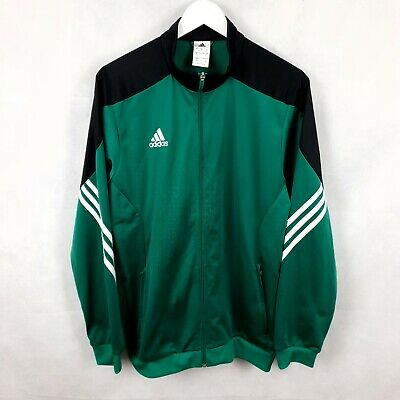 £19.90 • Buy ADIDAS Mens Full Zip Soft Shell Tracksuit Top Track Jacket Green Size Large