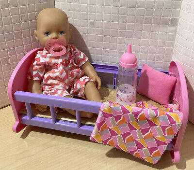 £9 • Buy Zapf 💕 My Little Baby Born ~ Bathing Fun Doll ~ With Accessories