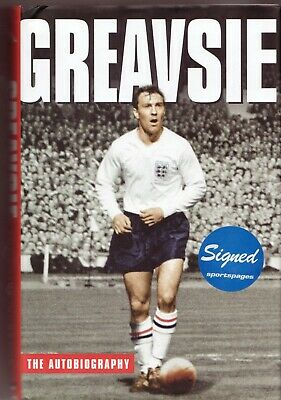 £13.50 • Buy Jimmy Greaves HAND SIGNED Book -  The Autobiography