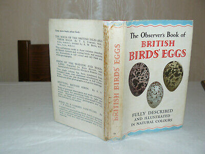 £12.99 • Buy The Observer's Book Of BRITISH Birds Eggs 1954 First