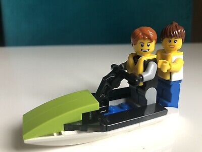 £1.99 • Buy LEGO CITY 30015 Harbour Jet Ski Complete No Packaging No Instructions 2 Mini Fig