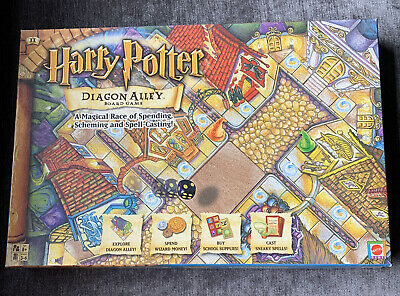£15 • Buy HARRY POTTER DIAGON ALLEY BOARD GAME INCOMPLETE SEE DESCRIPTION 2 Pces Missing