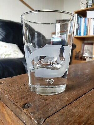 £6 • Buy Baileys Glass Small Baileys Etched Heavy Bottom Tumbler With Bubble In Base