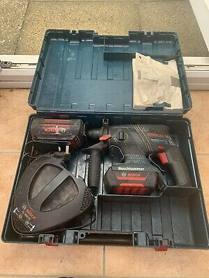 £150 • Buy Bosch GBH 36V - LI Compact Professional Hammer Drill,Charger And 1.3&2.6ah Batts