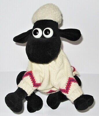 £14.95 • Buy Vintage Wallace & Gromit A Close Shave Shaun The Sheep Plush 9.5  Soft Toy