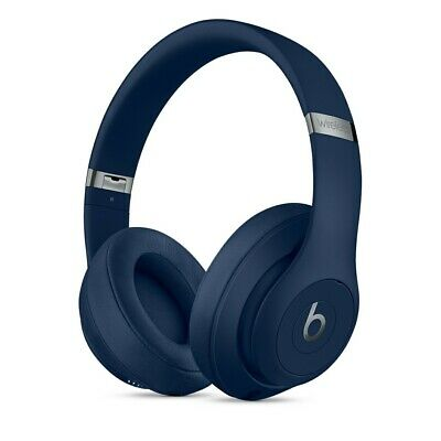 £160 • Buy Beats By Dr. Dre Studio3 Wireless Noise Cancelling Over-Ear Headphones Blue NEW