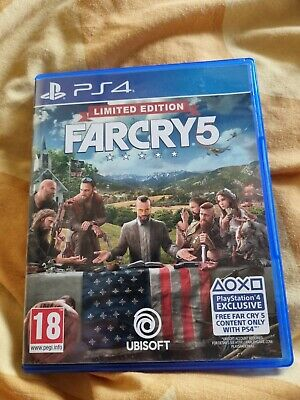 AU26.33 • Buy Far Cry 5 Limited Edition (PS4) Free P&P..