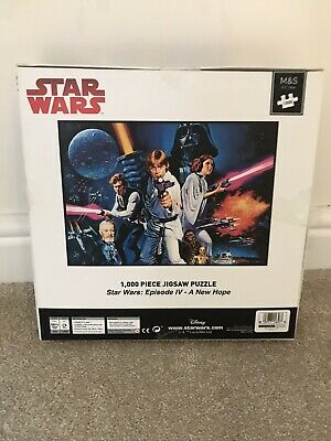 £10 • Buy Star Wars - Episode IV A New Hope Jigsaw Puzzle - 1000 Pieces Sealed