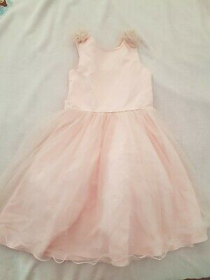 £10 • Buy  Tk Maxx Girls Ball Gown Formal Evening Party Light Pink Dress 7-8 Years