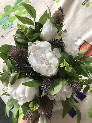 £70 • Buy Artificial Wedding Bouquets And Button Holes