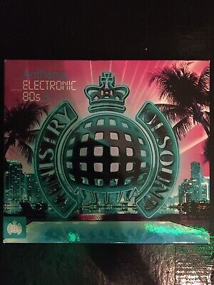 £3.99 • Buy Ministry Of Sound Electronic 80s Anthems 3 Barely Used 60 Track Compilation Pop