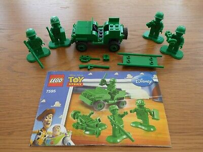 £8.99 • Buy Lego Disney Pixar Toy Story Army Men On Patrol 7495 Complete With Instructions