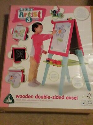 £9.99 • Buy Early Learning Centre Double Sided Wooden Easel, Flat Packed And Boxed.