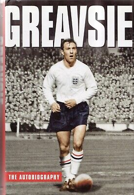 £8 • Buy Jimmy Greaves HAND SIGNED Book -  The Autobiography